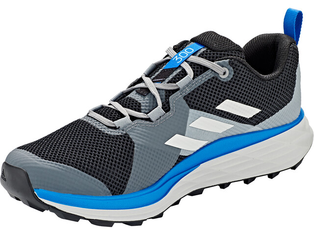 adidas TERREX Two Scarpe da trail running Uomo, core black/grey one/glory blue